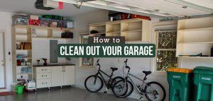 clean a garage