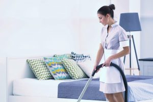Maid service in Garland, Texas
