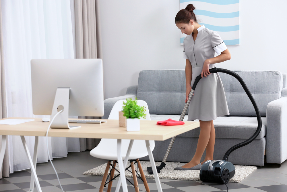 Maid service in Plano, Texas